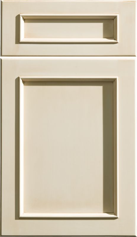 "Dura Supreme Cabinetry ""Chapel Hill Panel"" cabinet door style."