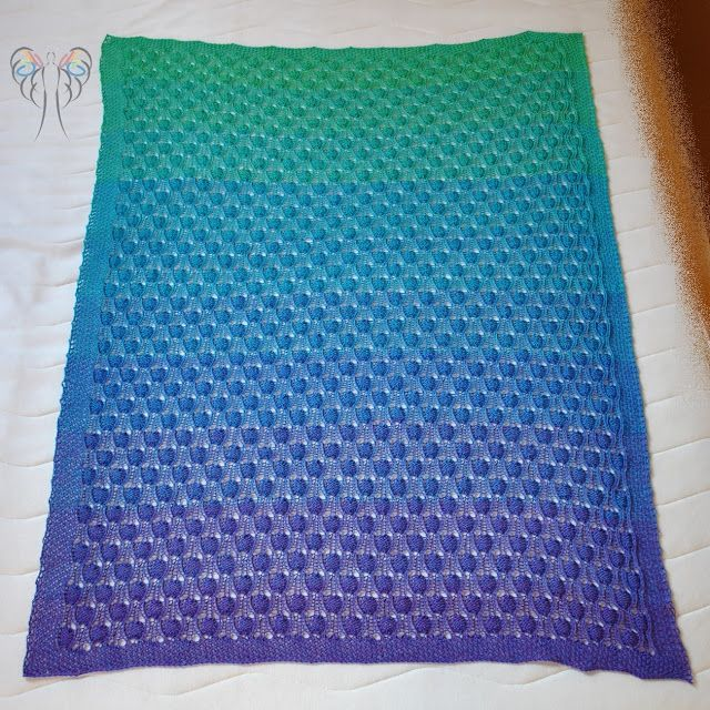 Bubble Blanket, 100Farbspiele, Farbverlaufswolle