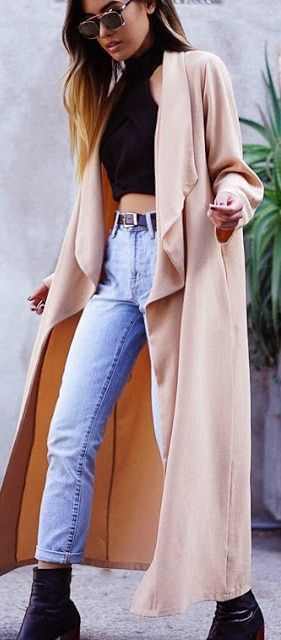 #fall #outfits / coat