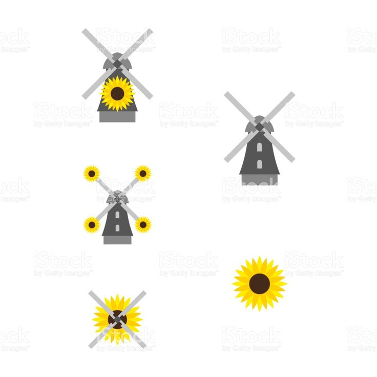 Windmill 2 royalty-free windmill 2 stock vector art & more images of blossom