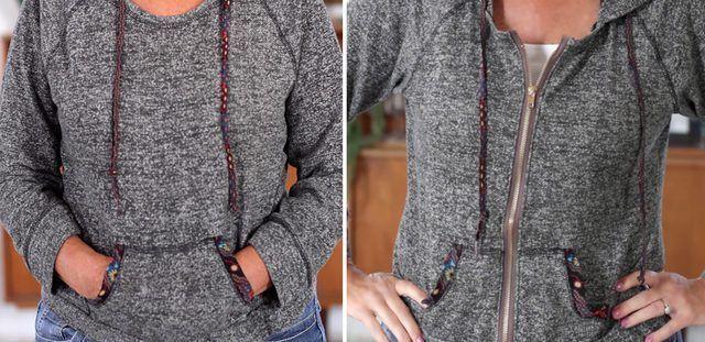 How to Put a Zipper in a Sweatshirt | eHow