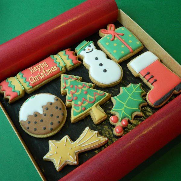 Christmas Cookies Box - Medium ~ Campervan Cookies ~ DO NOT PIN