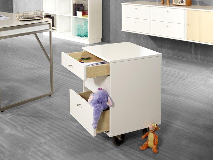 Flexibel förvaring för stora och små av vår tillverkare Hammel. EM Möbler-Mistral