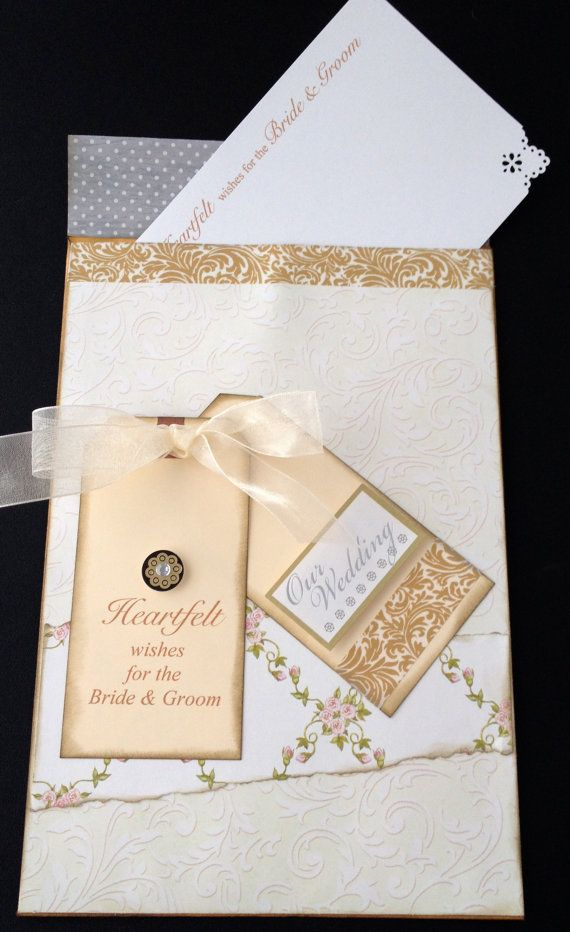 Wedding Wish Cards Bride And Groom Advice Cards Wish Cards And Envelope Holder Alternative Wedding Guest Book