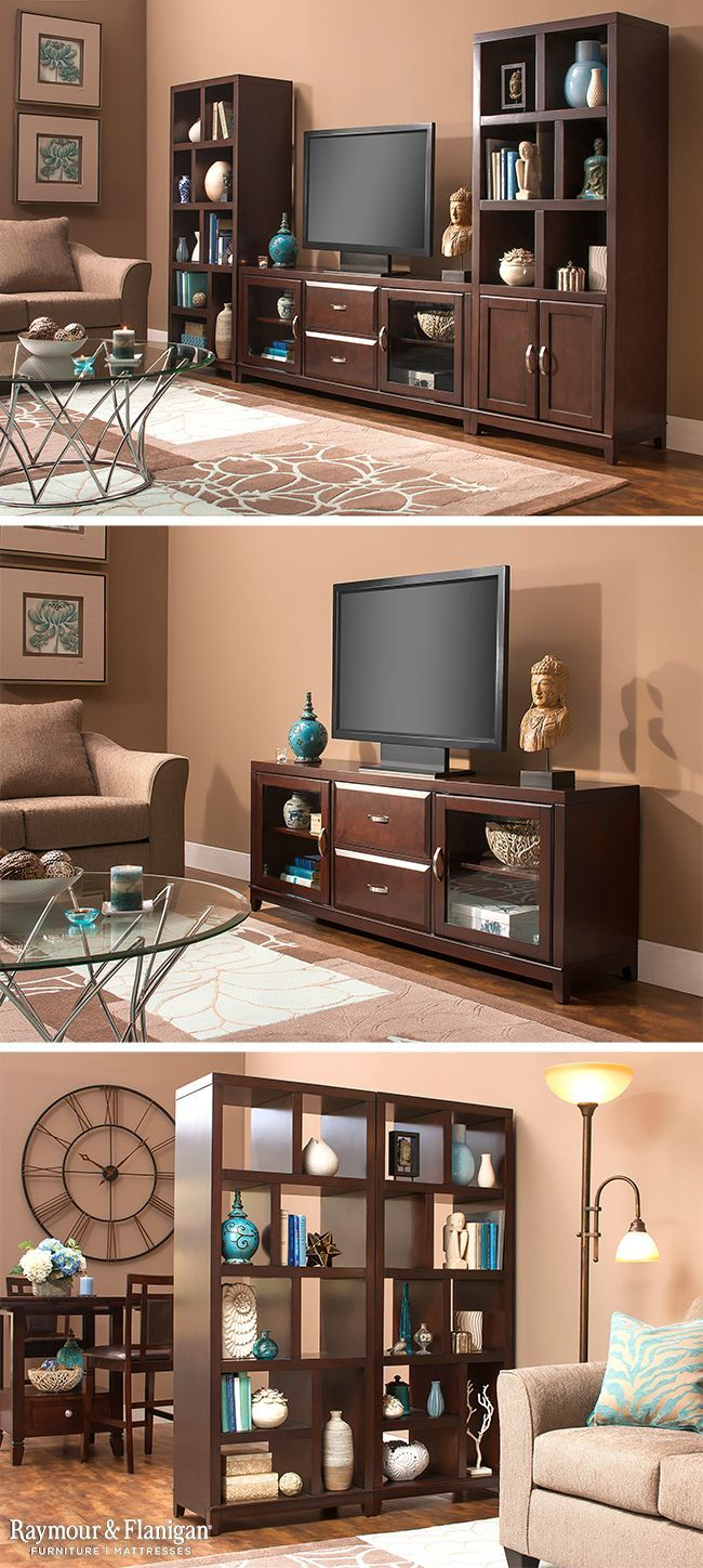 This Granthom Entertainment Collection Has So Many Choices. You Can Get A  Three Piece Set (your Choice Of Bookcases), Just The TV Console Or Only The  ...