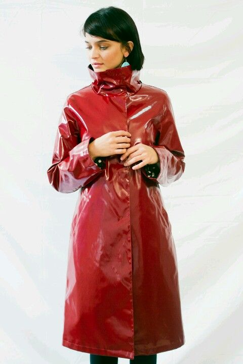 Jane Post This year raincoat collection.