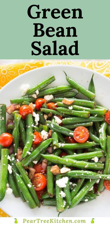 Mixed Green Bean Salad Recipe