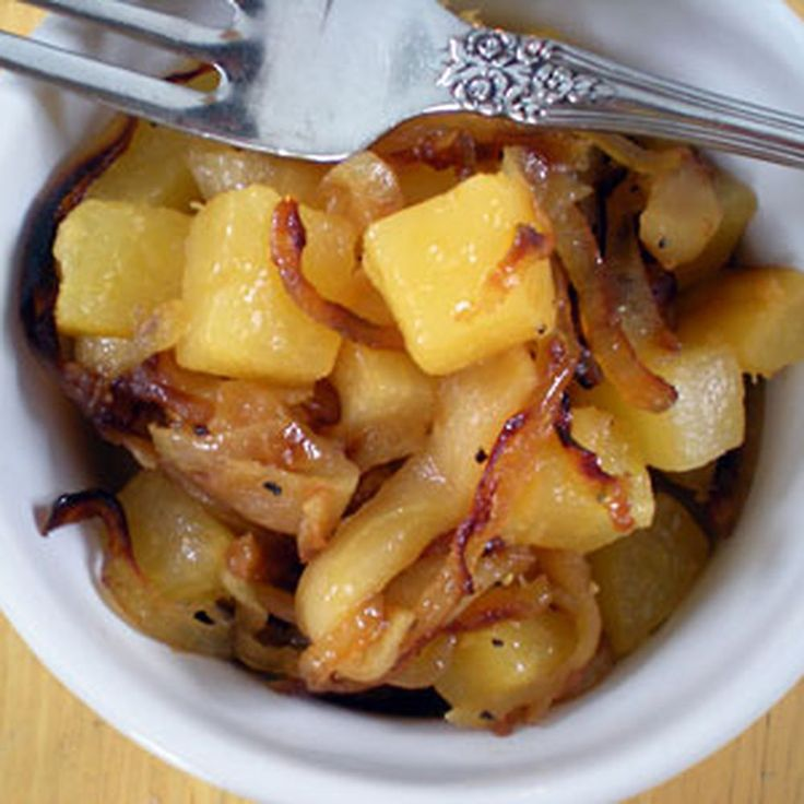 Rutabaga with Caramelized Onions and Apples Recipe on Food52 recipe on Food52