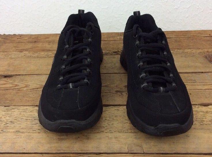Women's Sketchers Elite Memory Foam Black Walking Shoes Trainers Size 8.5 #Skechers #Trainers