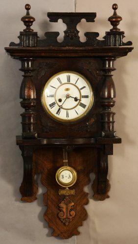 German R A Free Swinger Wall Clock Tick Tock Clock