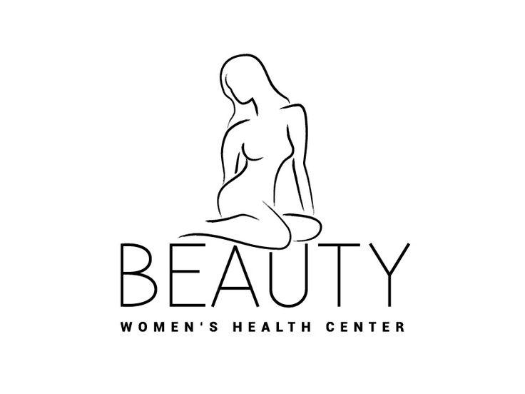 Exklusives Logo- und Corporate-Design Template für einen Schönheitssalon, Beauty Center oder Schönheitschirurg, plastische Chirurgie – Beauty