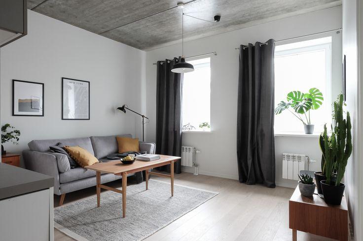 Modern-Scandinavian-white-and-grey-kitchen.-Styling-and-photography-Anu-Tammiste; Scandinavian midcentury modern interior