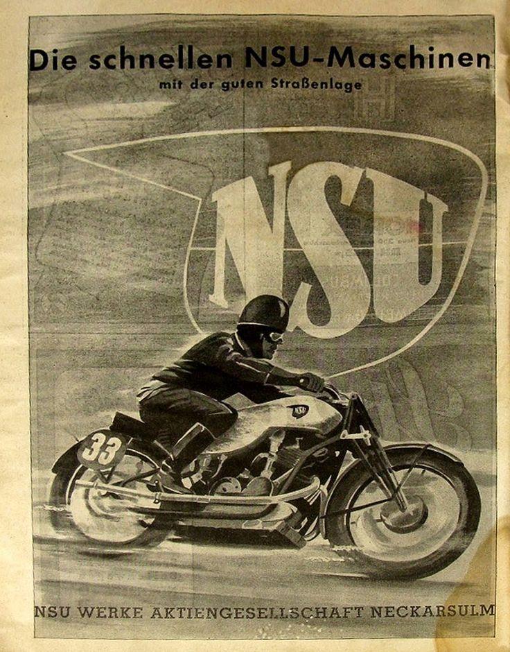 Vintage Brochures: NSU 1938