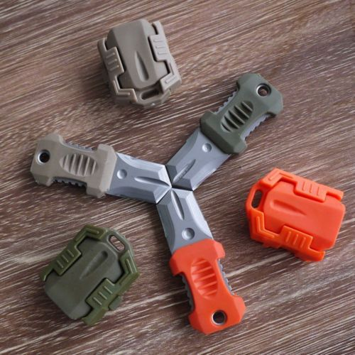 EDC Gear Mini Beetle Stainless Steel Knife MOLLE Webbing buckle Outdoor Self Defence survival tool-in Travel Kits from Sports & Entertainment on Aliexpress.com | Alibaba Group