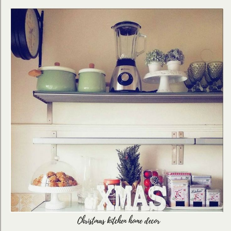 Five Little Things - Christmas Kitchen Home Decor // Shoegal Out In The World