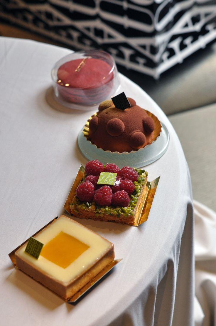What a selection... Fauchon French Pastries, Paris