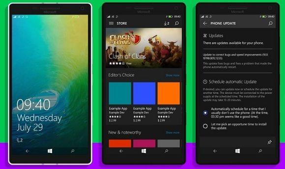 Tasarım anlayışında son moda sadelik.Microsoft da yeni mobil işletim sistemi Windows 10 Mobile sürümünde daha düz tasarım kullanmayı tercih etti.