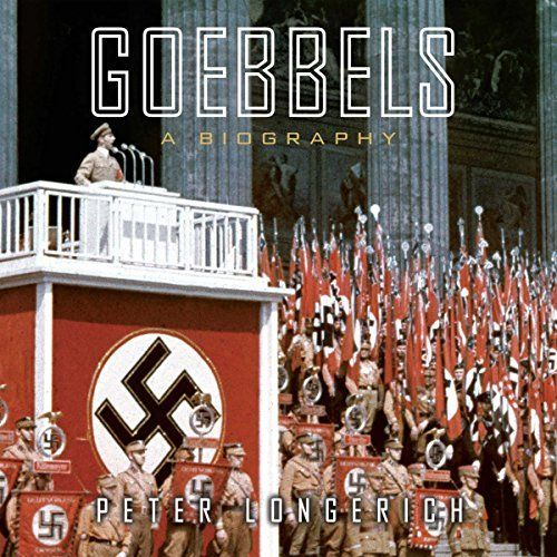 "Another must-listen from my #AudibleApp: ""Goebbels: A Biography"" by Peter Longerich, narrated by Simon Prebble."