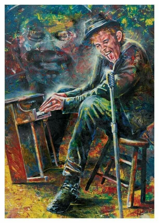 Tom Waits by Tom Noll