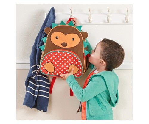 Mochila infantil divertida y práctica con un simpático erizo, perfecta para la etapa preescolar e infantil - Minimoi