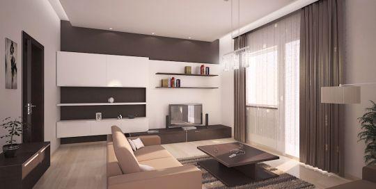 Návrh interiéru 2-izbového bytu, Ružomberok - kompletná rekonštrukcia