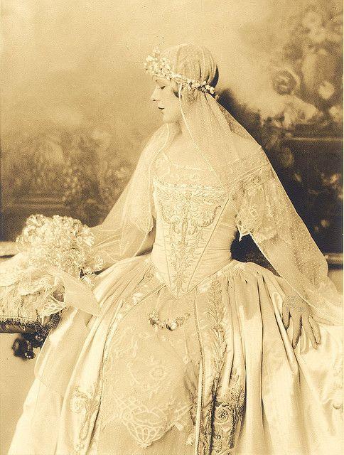 1918 bride.