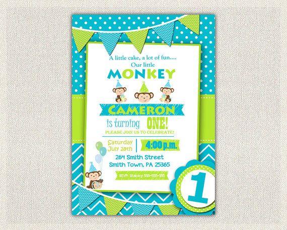 Best 20+ Monkey invitations ideas on Pinterest | Order address ...