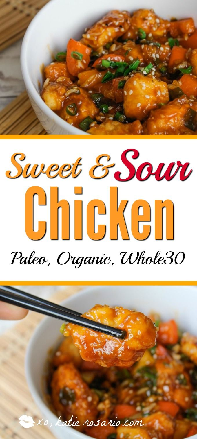 I try my best to eat clean but something I cant think of anything that's good to eat. I never thought that my favorite dish could be turned into something healthy! I am so excited now to stay healthy with my paleo diet! Sweet and Sour chicken thats healthy and tastes good sign me up! Saving for later!