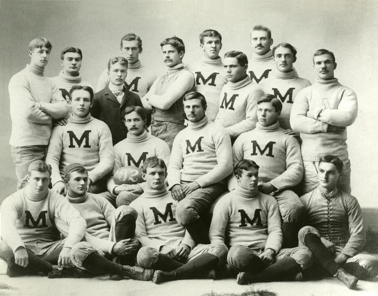 1891 U of M football team