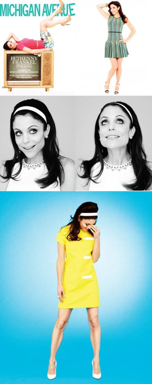 Bethenny Frankel needs to come, dress retro, too, and we'll go shopping together after.
