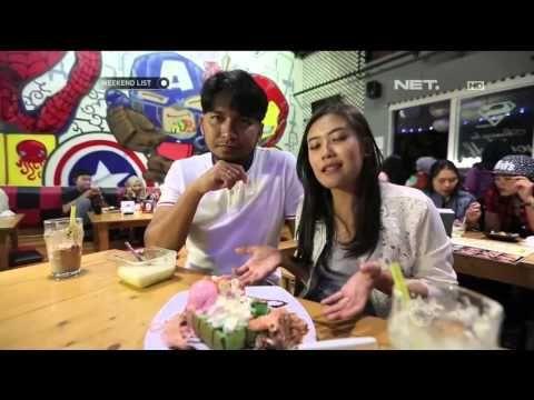 Marsya & Shinta makan di Takolada dan Eatalia yang ada di Bandung
