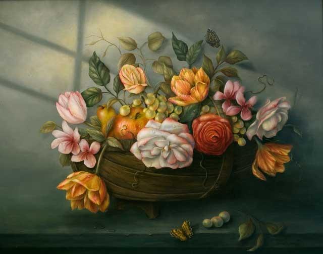 English Garden Trug - Sharon Hamilton, MDA