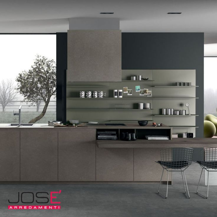 Oltre 25 fantastiche idee su mensole cucina su pinterest - Cucine in kerlite ...