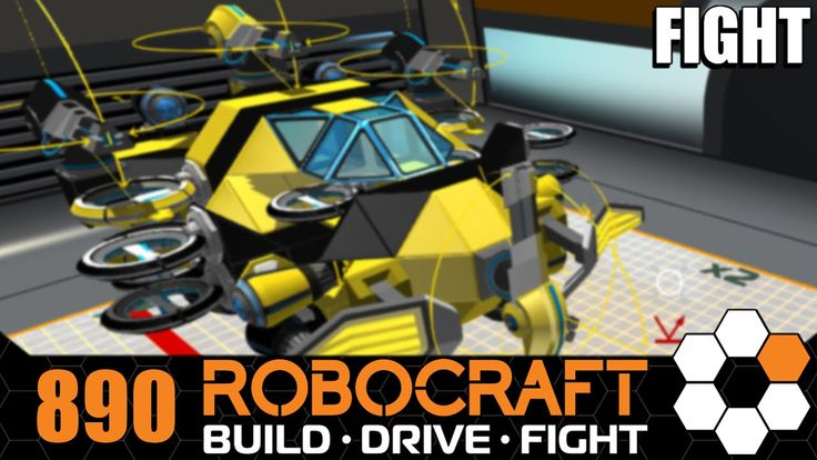 Robocraft 'Wasp' SMG Hover Let's Play