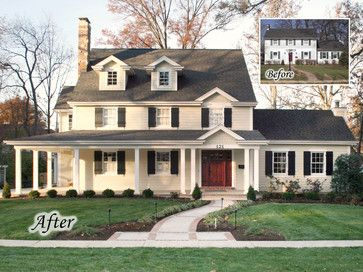 30 best images about before after exterior renovations for Exterior renovations before and after