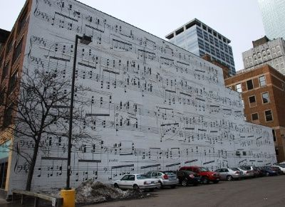 "Schmidt Music Wall- Minneapolis, MN I remember when this was in my ""Weekly Reader""."