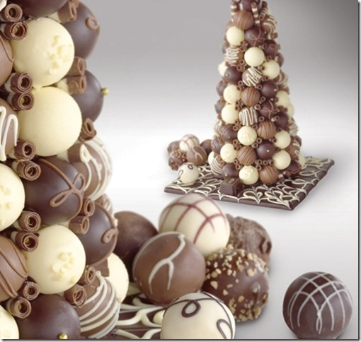 chocolate trees for centerpieces