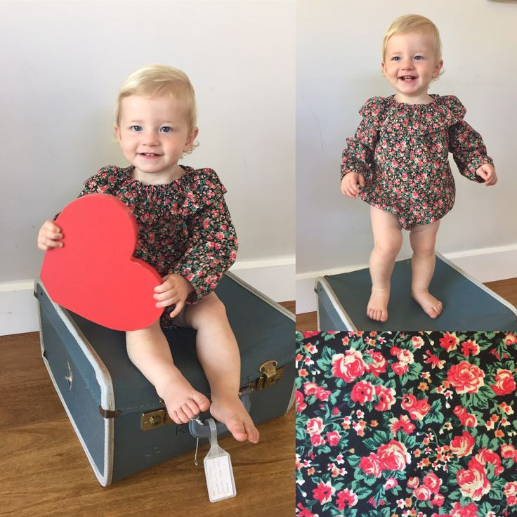 'The Toddy' ~ Handmade baby rompers BEAR+MOO+DO