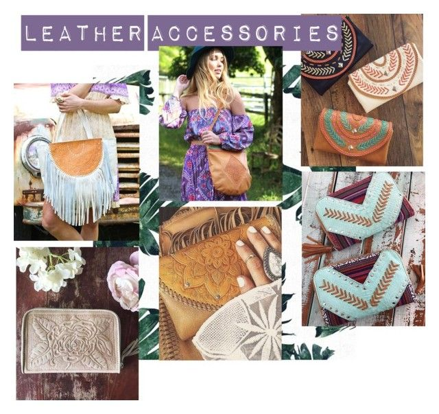 """Leather Accessories"" by mahiyaleather on Polyvore"