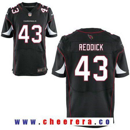 Men's 2017 NFL Draft Arizona Cardinals #43 Haason Reddick Black Alternate Stitched NFL Nike Elite Jersey