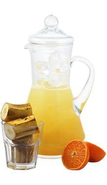 Banánovo-mandarinkový ovocný drink ve džbánu | Smichejto.cz