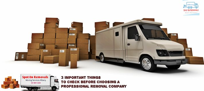 3 Important Things To Check Before Choosing a Professional Removal Company