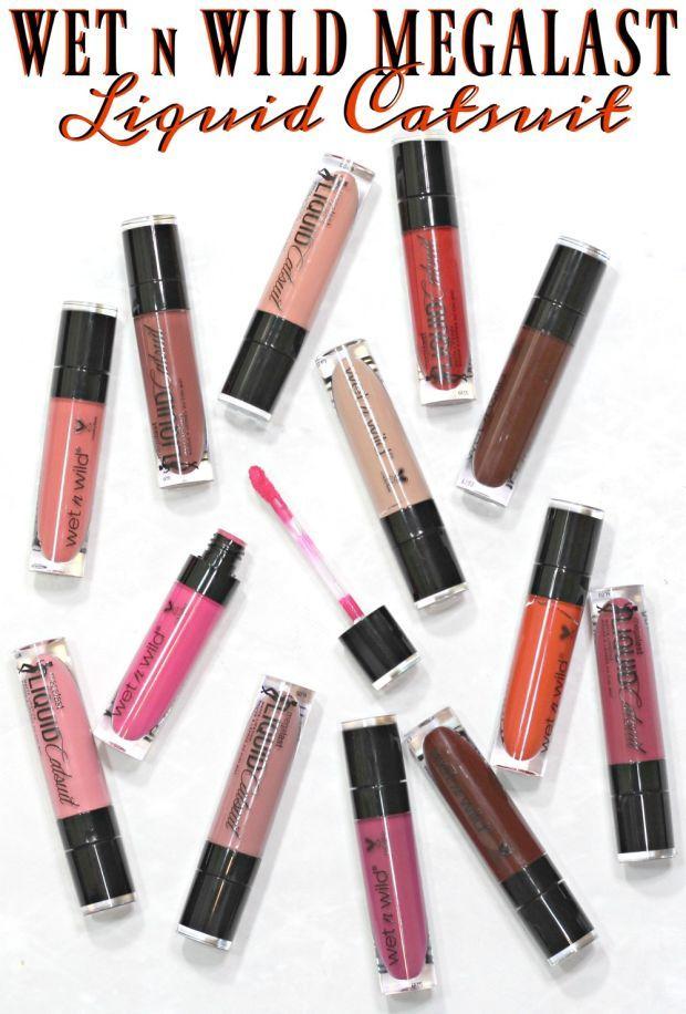 The best drugstore liquid lipstick? Wet N Wild MegaLast Liquid Catsuit Matte Lipstick FULL Review