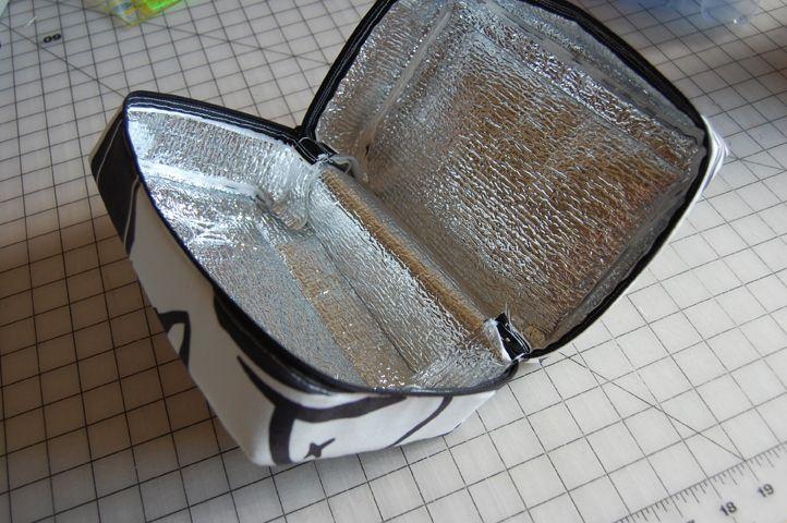 Car SunShade DIY Insulated Bento/Lunch bag!  :)