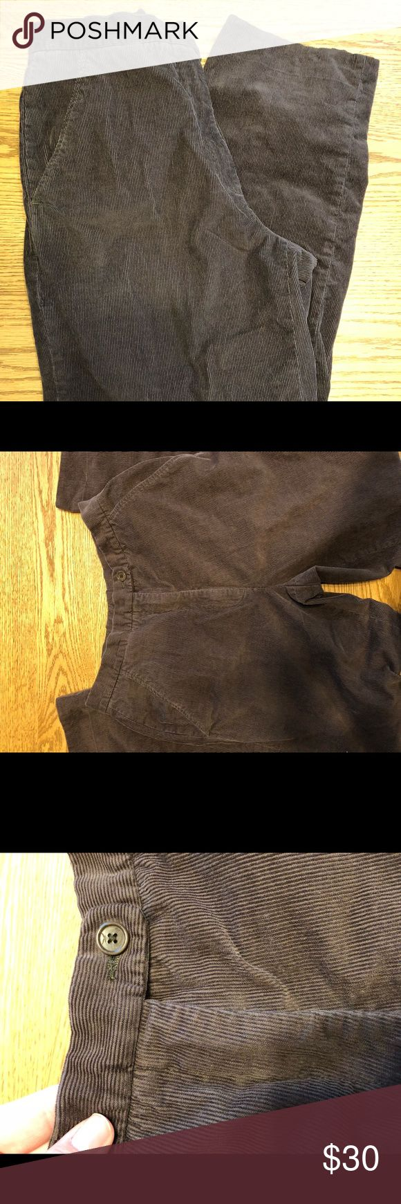 Faconnable Brown Slacks Size 6 Faconnable, brown pants, size 6. Great condition! faconnable Pants Straight Leg