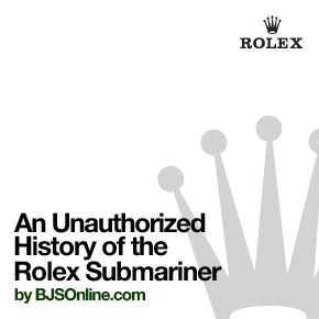 "An Unauthorized History of the Rolex Submariner by BJSOnline.  ============================  The history of the Rolex Stainless Steel Submariner 1950 to the present day is submerged in total confusion and disagreement yet is colorful, exciting, and addictive especially the early years. A message from Rolex Geneva in ""Keeping in time with Oceanography"" states and I quote ""The History of Rolex is intimately tied to Mans conquest of the Ocean."" ============================= #rolex #vintagerolex…"