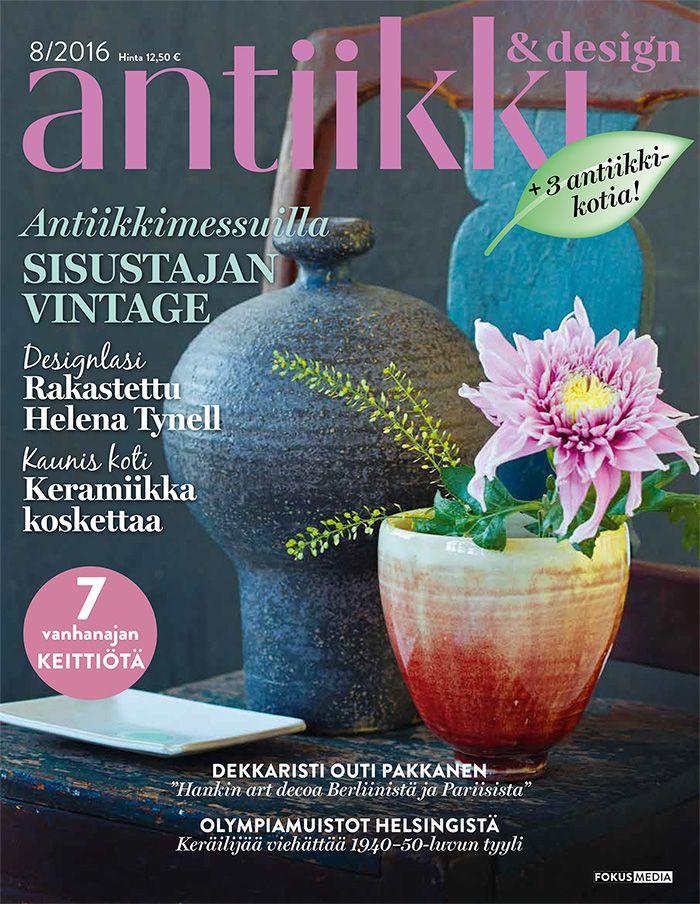 Antiikki & Design 8/2016. Styling Irene Wichmann, photo Pia Inberg