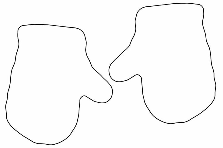 Mitten Coloring Pages - Mitten Coloring Pages