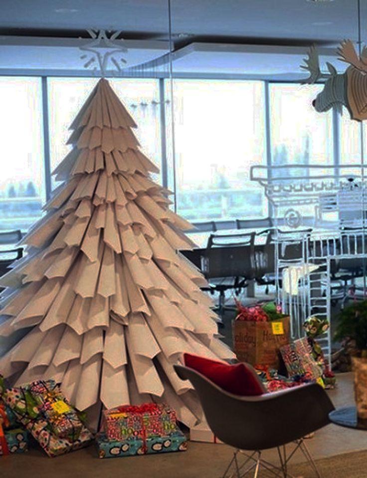 208 mejores im genes de arboles de navidad christmas - Decoracion navidad papel ...