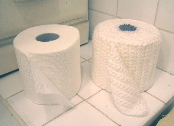 Toilet Paper Cozy Cover